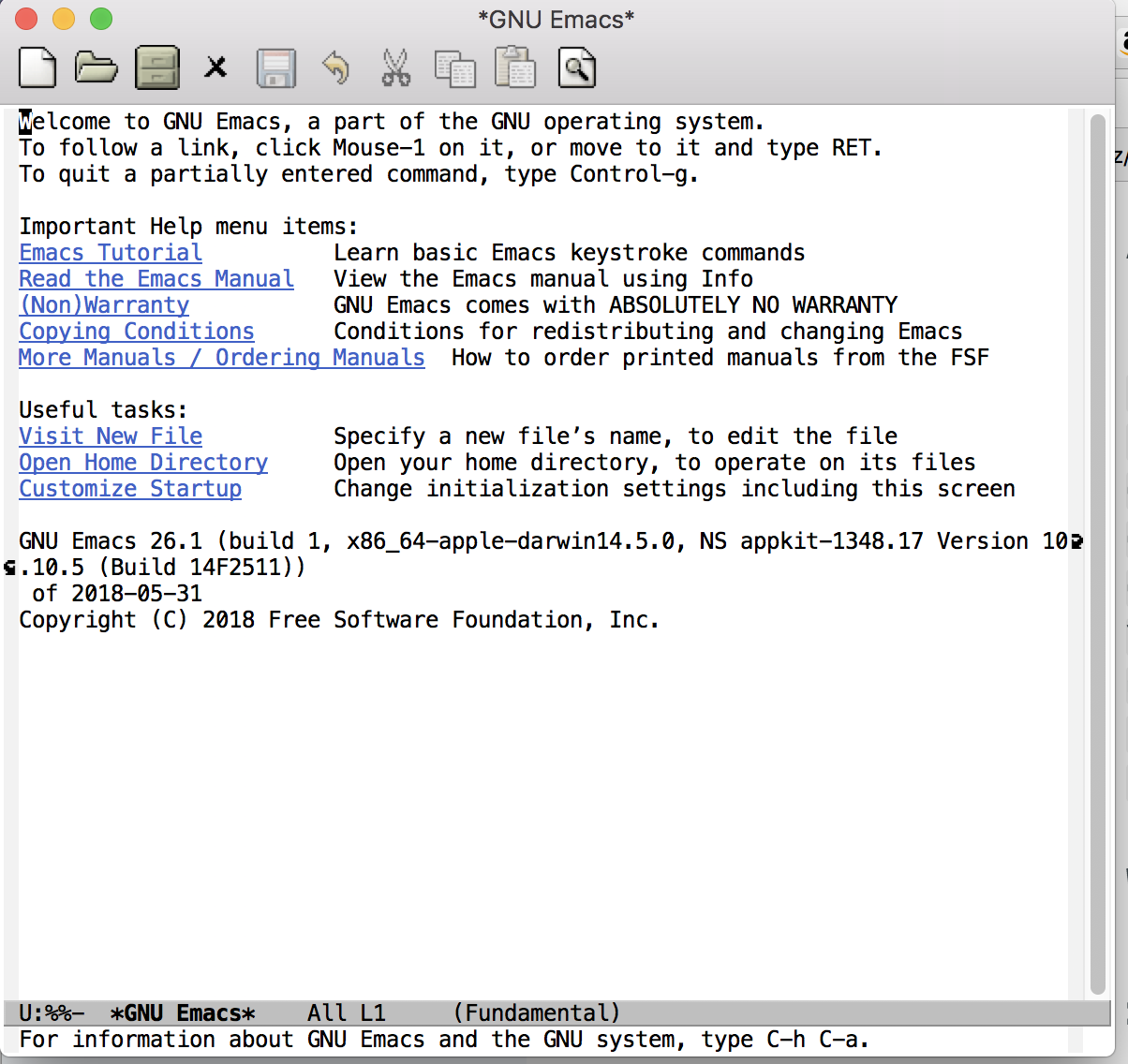 Getting Started with emacs in 30 Minutes